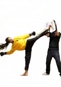 master lewis kickboxing shoot - 2